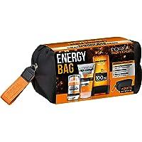 L'Oréal Men Expert Energy Bag, 24H Feuchtigkeitspflege (50ml), Waschgel (150ml) und Hydra Energy Duschgel (300ml)
