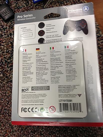 BD&A Power A PS3 Pro Wireless Controller