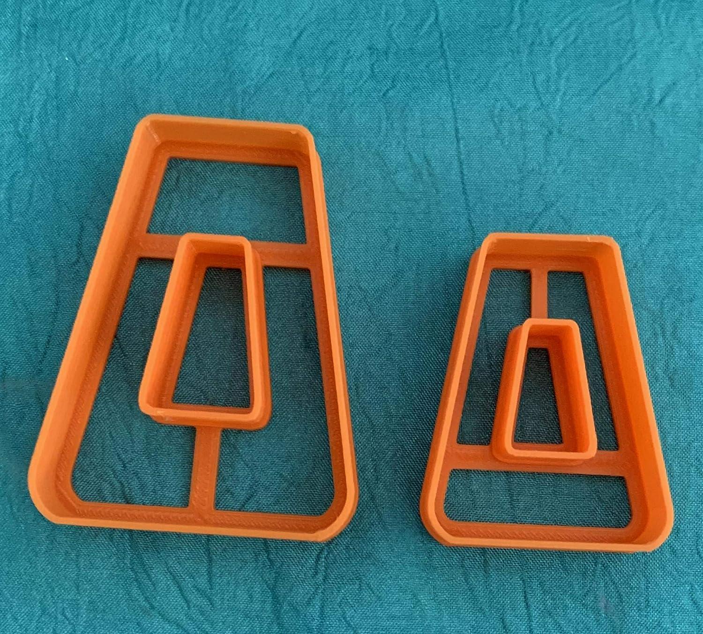 de acero inoxidable moldes para hornear peque/ños moldes para perforar arcilla hechos a mano con estuche de almacenamiento con hendiduras de pl/ástico redondas 40 cortadores de arcilla polim/érica