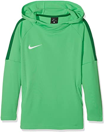 6a96e8fa38fc Nike Jungen Dry Academy 18 Pullover, Light Spark Pine Green White, XS