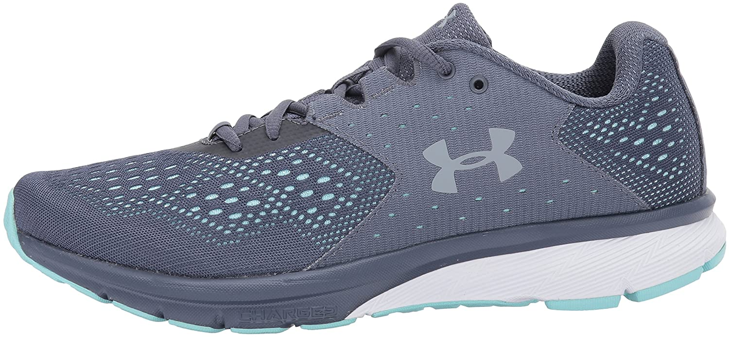 Under Armour Women's Charged 12 Rebel Running Shoe B01NAIIU1R 12 Charged M US|Apollo Gray (100)/Blue Infinity cb2204