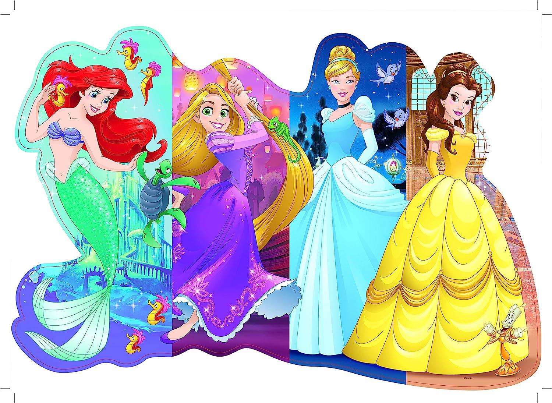 Amazon Com Ravensburger Disney Princess Pretty Princesses Shaped