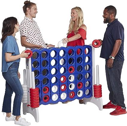 Connect 4 Game GIANT BIG Jumbo Kids Adult Indoor Outdoor Yard Fun BBQ Gift New