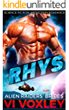 Rhys: Alien Abduction Romance (Alien Raiders' Brides)