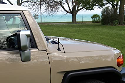 4 GREEN Aluminum Antenna is Compatible with Toyota Sienna 1998-2014 Made In USA AntennaMastsRus