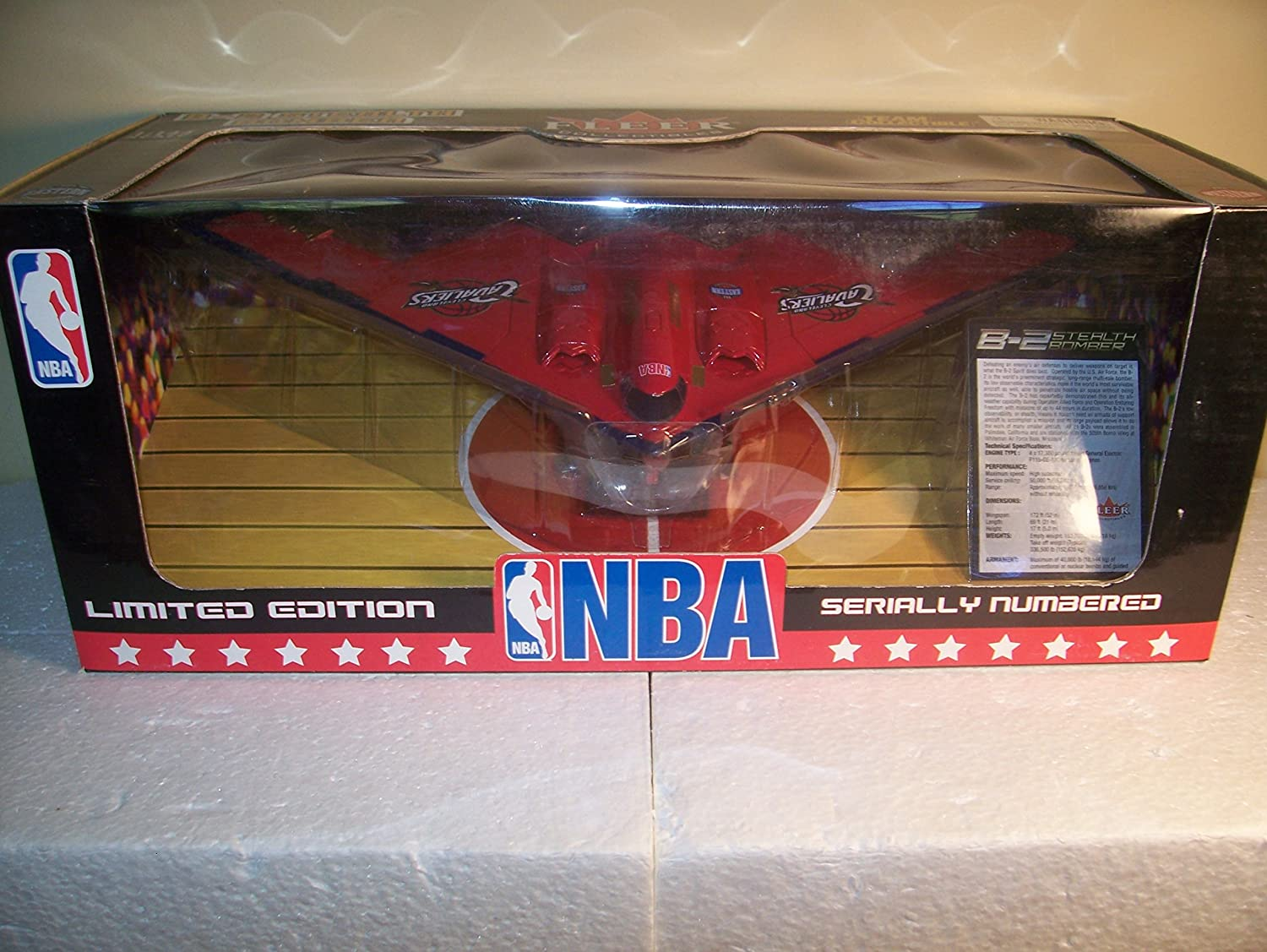 Cleveland Cavaliers Diecast B-2 Stealth Bomber Airplane