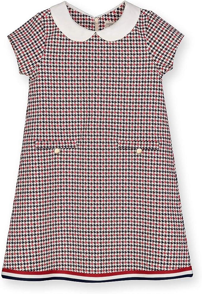 60s 70s Kids Costumes & Clothing Girls & Boys Hope & Henry Girls Short Sleeve Ponte A-Line Dress $26.95 AT vintagedancer.com