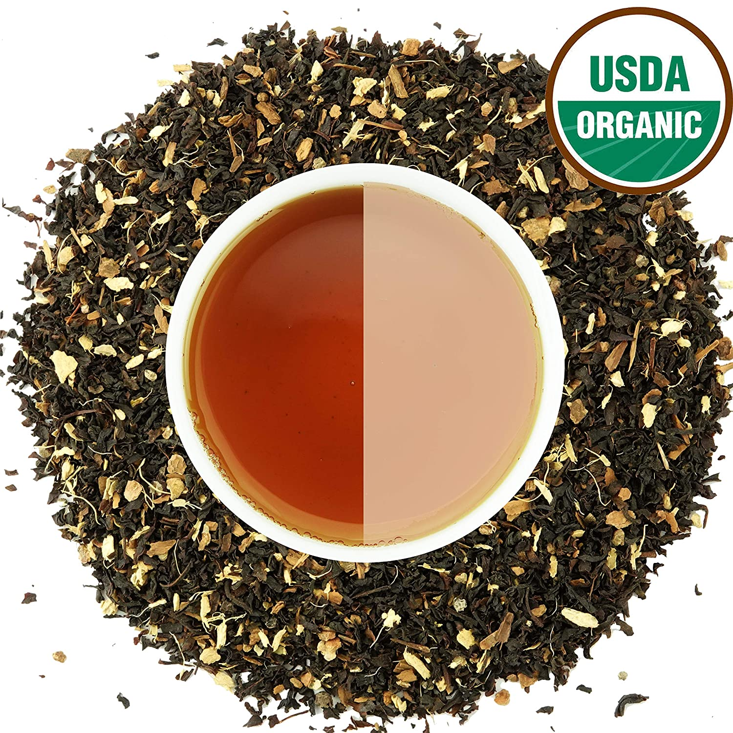 Classic Chai Tea Loose Leaf | CEYLON (110+ Cups) | 100% CERTIFIED ORGANIC Chai Ingredients