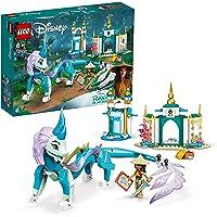 LEGO 43184 Disney Princess Raya och Sisu Dragon Toy, från Disney's Raya och den sista drakfilmen, för barn från 6 år