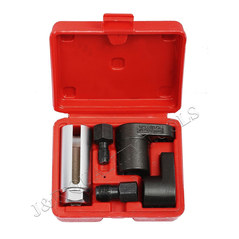 O2センサー ソケットレンチネジ切り工具 5個セット B0725J3LGC