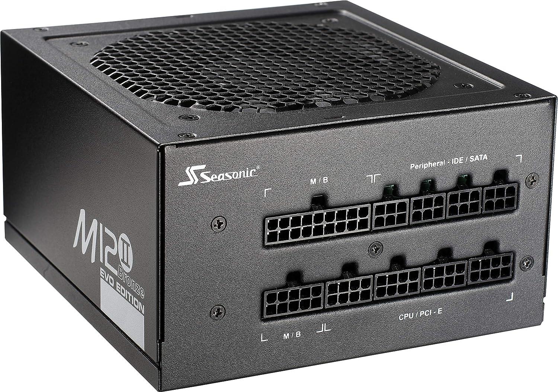 Seasonic M12II-620W Alimentation pour PC 620 W 120 mm 80Plus BRONZE