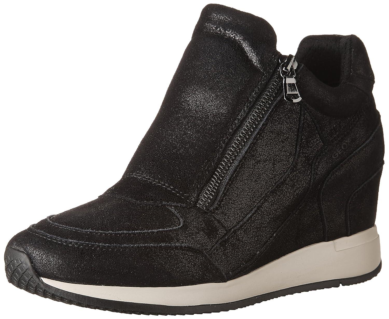 Geox D Nydame A Zapatillas de Deporte para Mujer -Black-41
