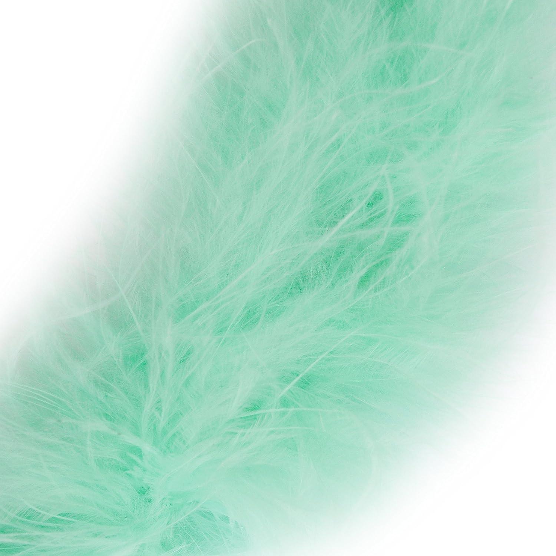 Marabou Swansdown Feather Trim Soft /& Fluffy Craft Choose Colour 1 Metre Orange