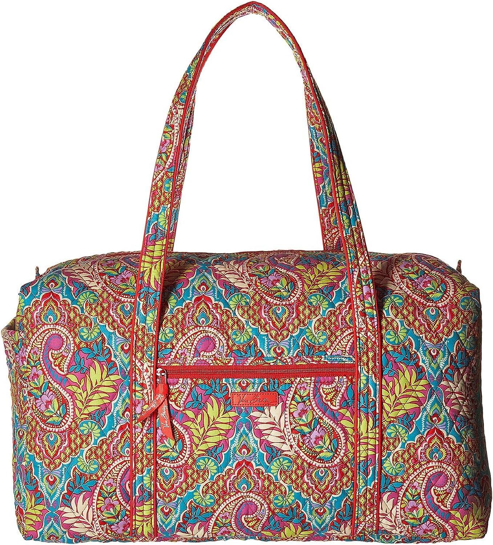 Vera Bradley Luggage Women s Large Duffel Paisley in Paradise Duffel Bag