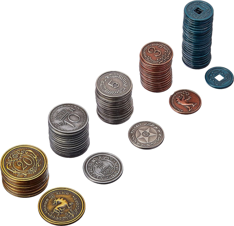 Scythe: Metal Monedas Adicional: Amazon.es: Juguetes y juegos