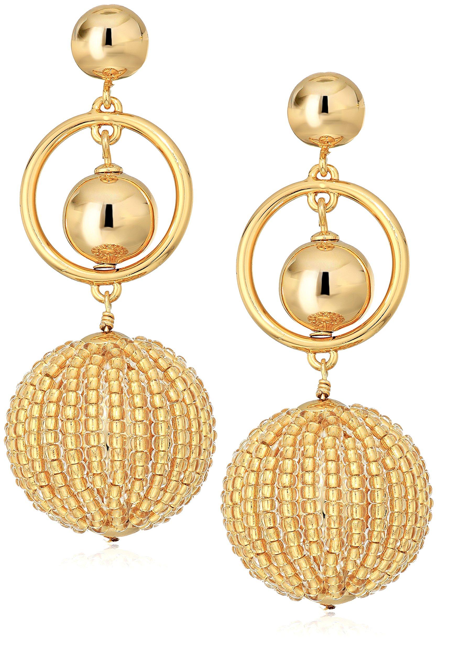 kate spade new york Gold Drop Earrings