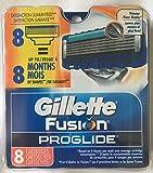 8 Gillette Fusion Proglide Razor Blades NEW 8 PACK 100% AUTHENTIC, GENUINE NIB