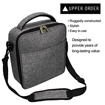UPPER ORDER Durable Insulated Lunch Box