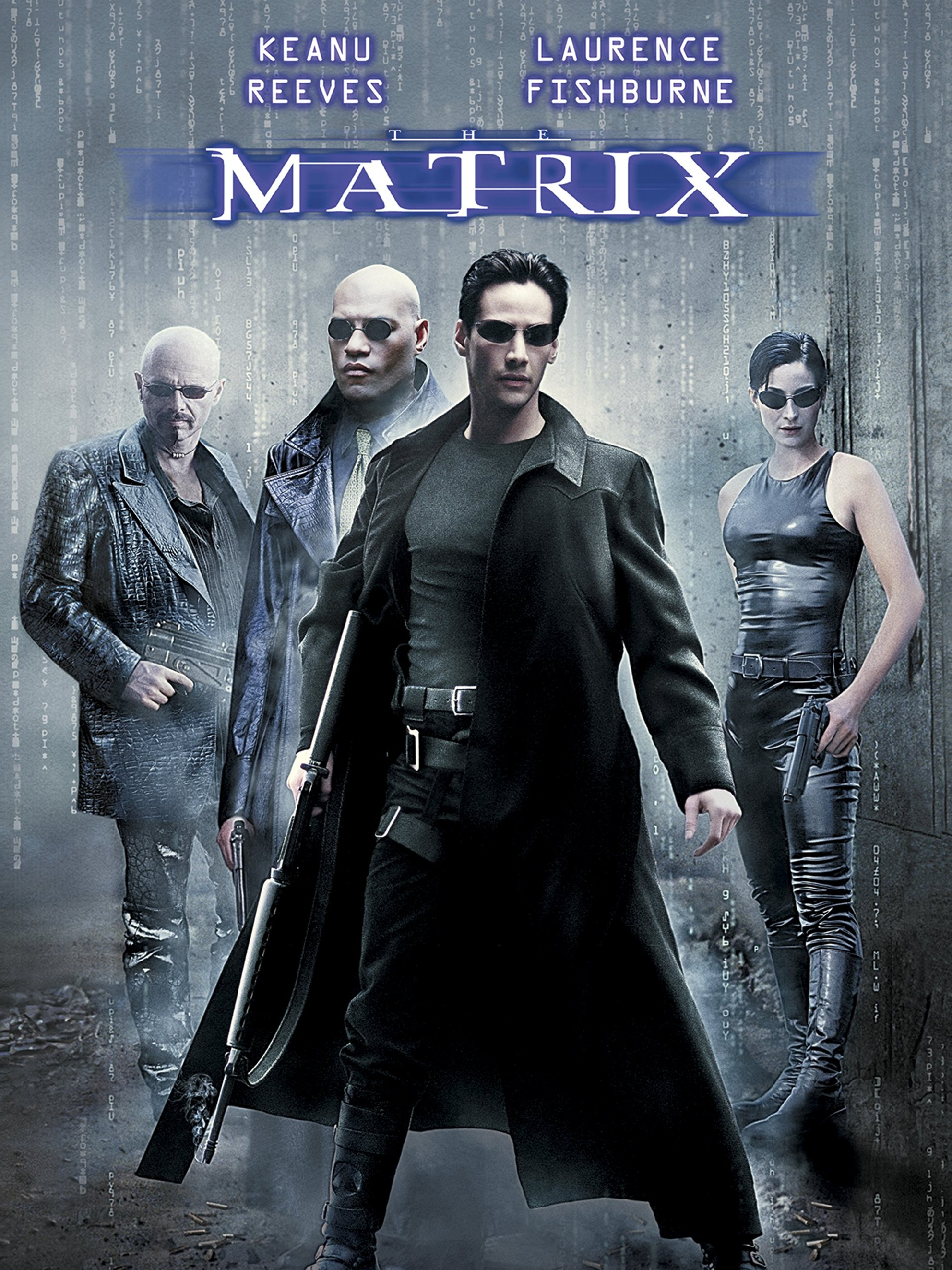 The Matrix Keanu Reeves Carrie Anne Moss Laurence Neo Trinity My Amplifier Fishburne Hugo Weaving Amazon Digital Services Llc