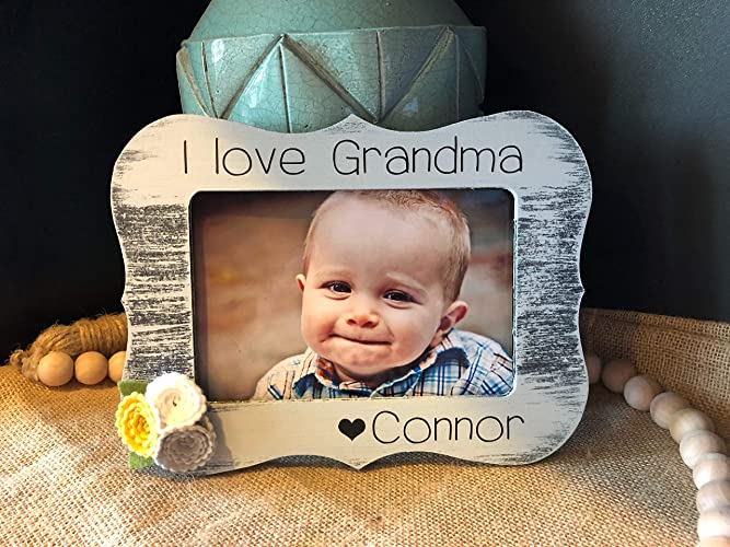 Amazoncom Grandma Gift Personalized Gift For Grandma I Love