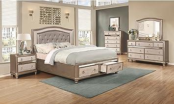 Amazon Com Bling Game Bedroom Elegant Classic Furniture 4pc