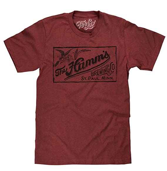 1a33590e4 Tee Luv Hamm's Brewing Company T-Shirt - Licensed Hamms Beer Shirt (Small)