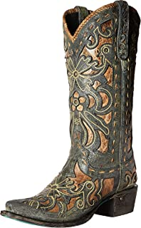 36bed4208ed Amazon.com | Lane Boots Women's Jeni Lace (Brown) | Mid-Calf