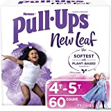Pull-Ups New Leaf Girls' Training Pants, 4T-5T, 60 Ct