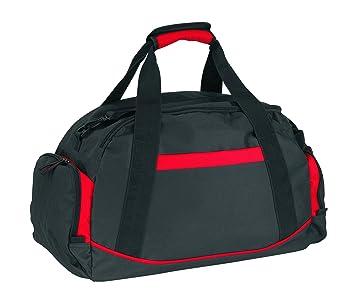 Bolsa de deporte (compartimento para zapatos), color rojo ...