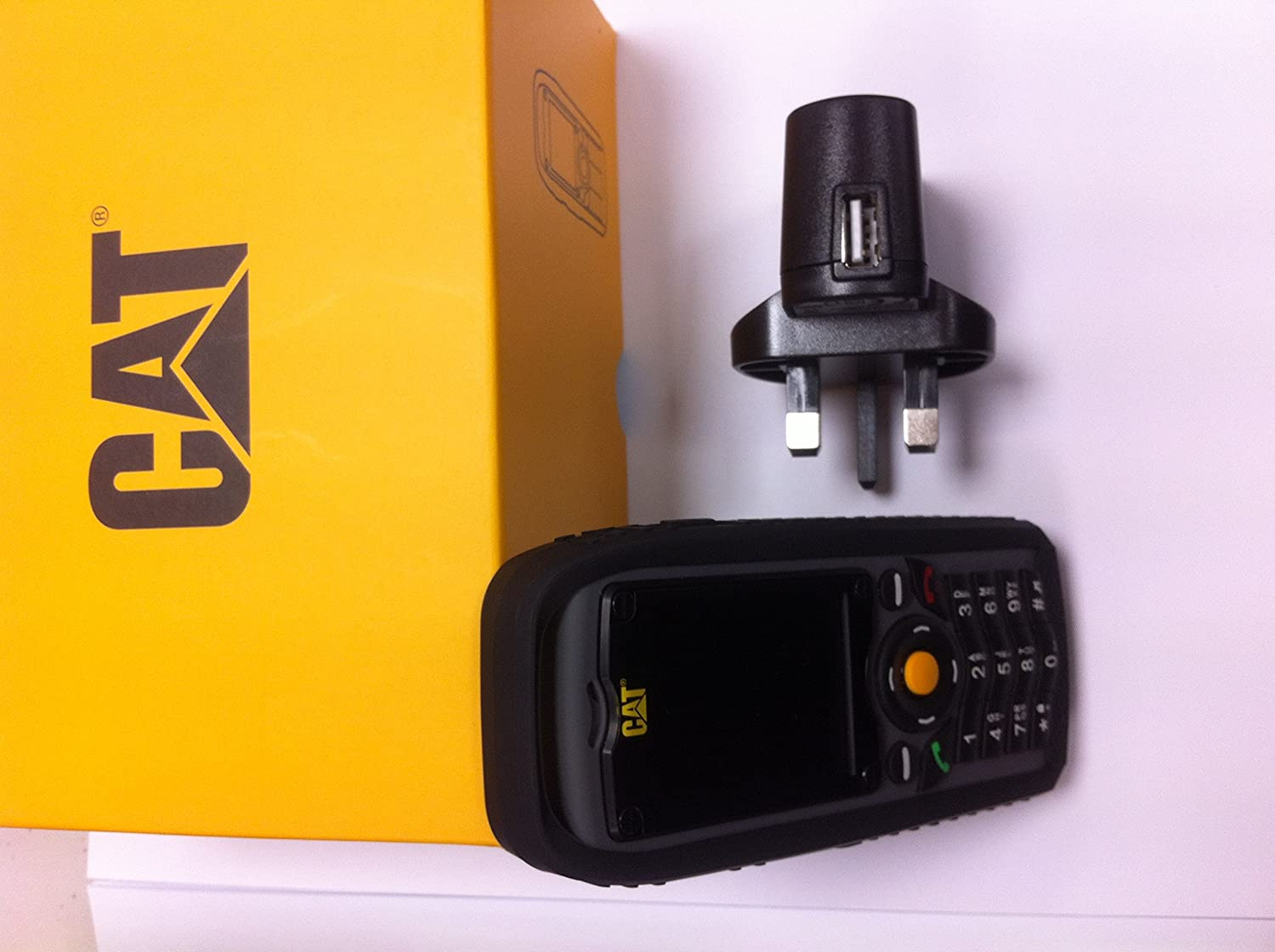 Jcb tradesman 2 tough mobile phone onedirect co uk -  Rugged Tough Mobile Phone Dust Proof Shockproof Waterproof Ip67 Durable Builders Phone Outdoor Cellphone Unlocked Sim Free Amazon Co Uk Electronics