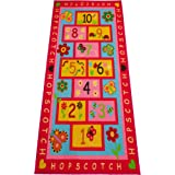 """Hopscotch Kids Rug, Extra Large 72""""x39"""" 