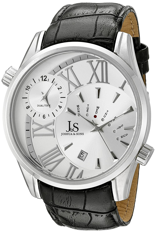 Joshua & Sons Herren-Armbanduhr Analog Quarz JS72SS