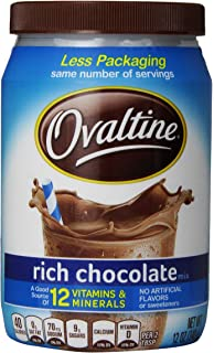 Nestle Foods Ovaltine Rich chocolate, 12 oz