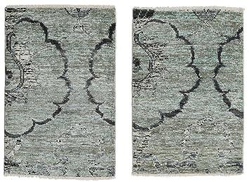 Carpetvista Himalaya Bambus Seide Teppich 60x90 Moderner Teppich