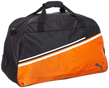 a6781af0c4e4 Puma Liga Football Bag Dark Navy Team Orange White blue dark navy-team