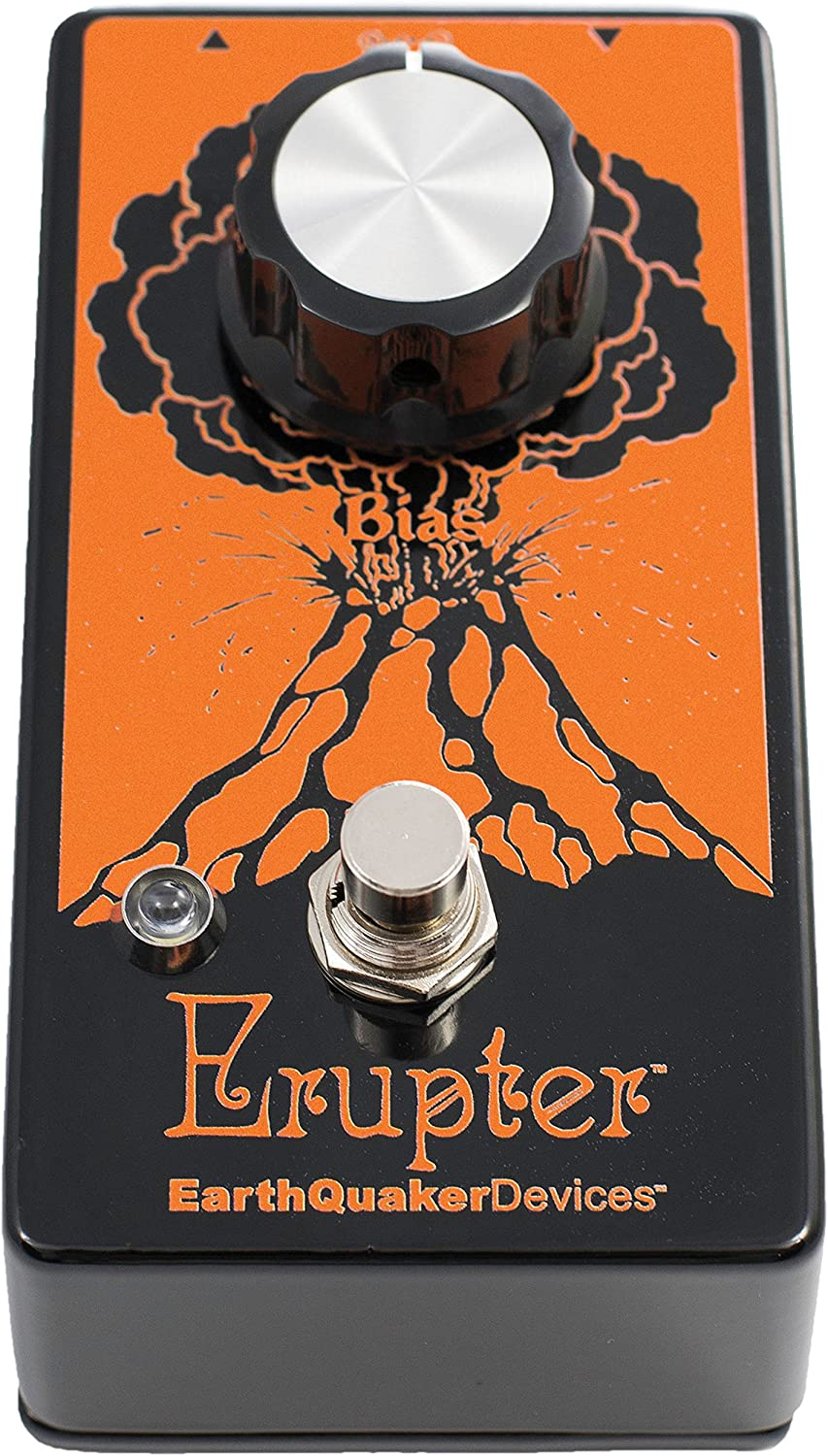 EarthQuaker Devices Hoof Fuzz Guitar Distortion Effects Pedal