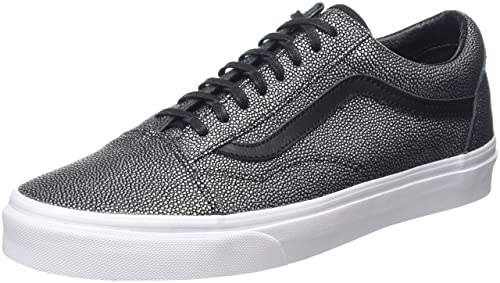 affe9ff1ca48f5 Vans Womens Old Skool Embossed Stingray Black