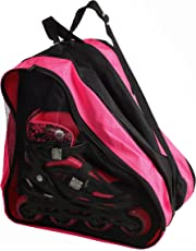 High Bounce Rollerblades Bag, Hockey Skate Figure Shoes Case Roller Holder Inline & Helmet