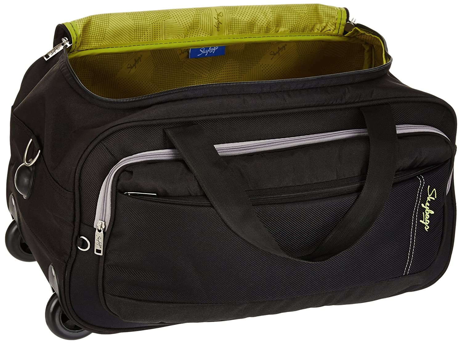 Skybags Cardiff Polyester 52 cms Black Travel Duffle (DFTCAR52BLK)   Amazon.in  Bags 5b23073c3dbde