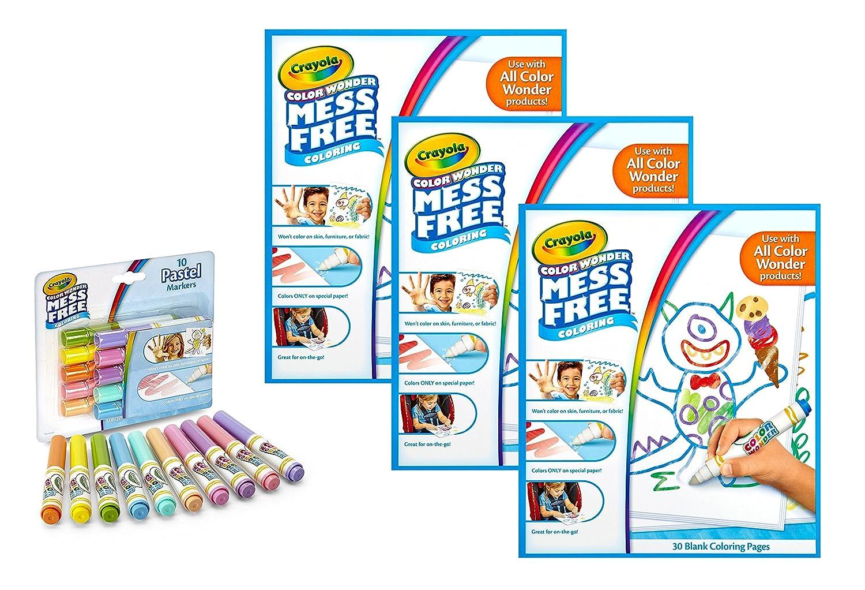 Amazon.com: Crayola Color Wonder Drawing Paper-30 Sheets: Toys & Games