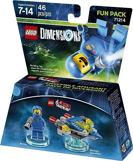 LEGO Movie Benny Fun Pack - LEGO Dimensions by Warner Home Video - Games: Amazon.es: Juguetes y juegos