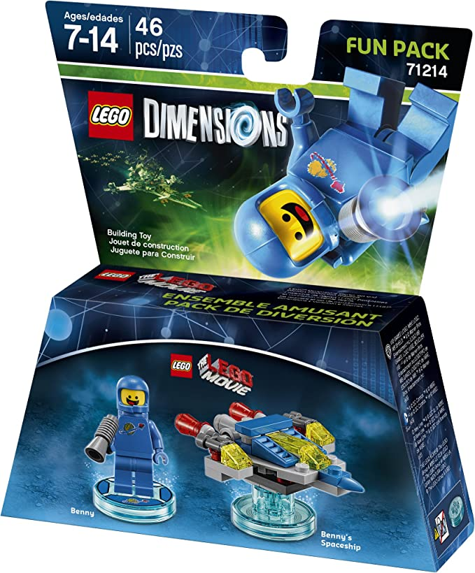 LEGO Movie Benny Fun Pack - LEGO Dimensions by Warner Home Video - Games: Amazon.es: Juguetes y juegos