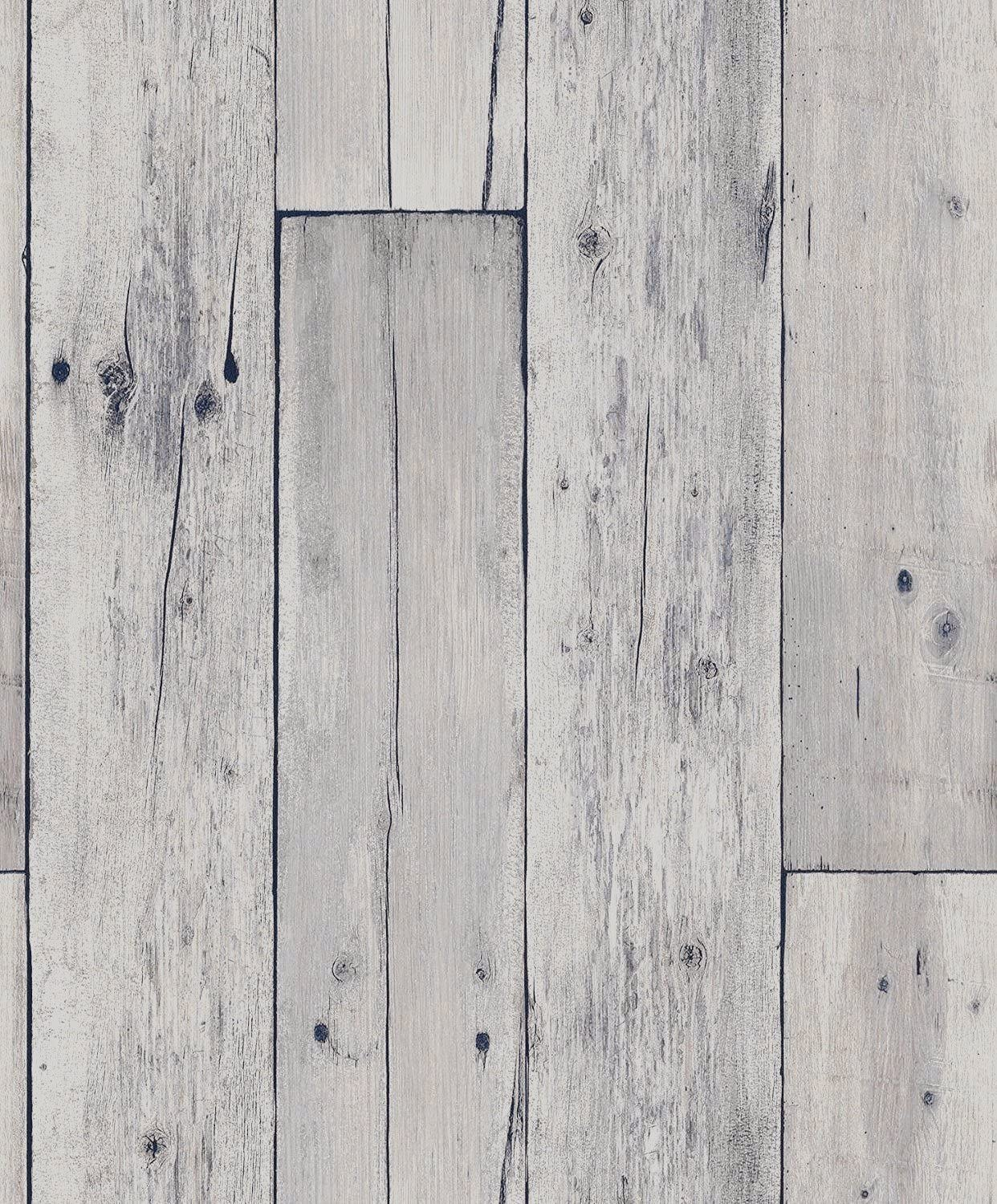 Blooming Wall: Faux Wooden Planks Wood Panel Wallpaper Wall Mural,20.8 In32.8 Ft=57 Sq Ft