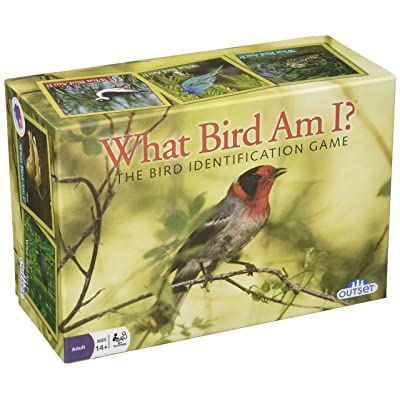 "Bird Trivia Game ""What Bird Am I?"" - The Ultimate Educational Trivia Card Game Featuring Over 300 Cards: Toys & Games"