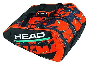 7697304a2 Head Delta Bela Monstercombi Bolsa de Tenis, Unisex Adulto, Negro/Naranja,  Talla Única: Amazon.es: Deportes y aire libre