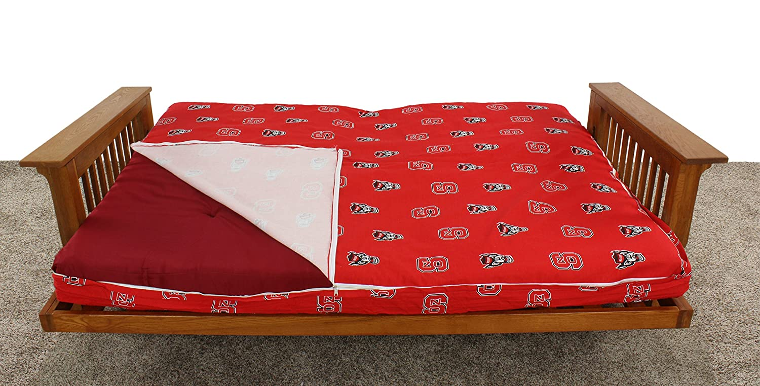 Full College Covers North Carolina State Wolfpack Futon Lounge Cover