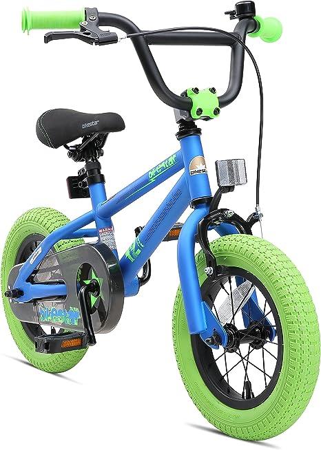 BIKESTAR Bicicleta Infantil para niños y niñas a Partir de 3 años | Bici 12 Pulgadas con Frenos | 12