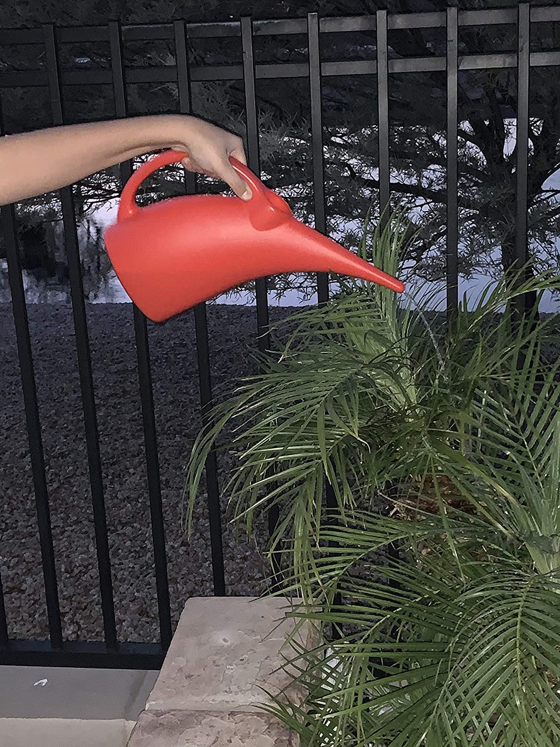 Kool Products Watering Can Indoor Plastic Watering Cans Mini Plant Watering Cans 1 Pack Small Indoor Watering Cans for House Plants 1//2 Gallon Plant Watering Can BPA Free Pink
