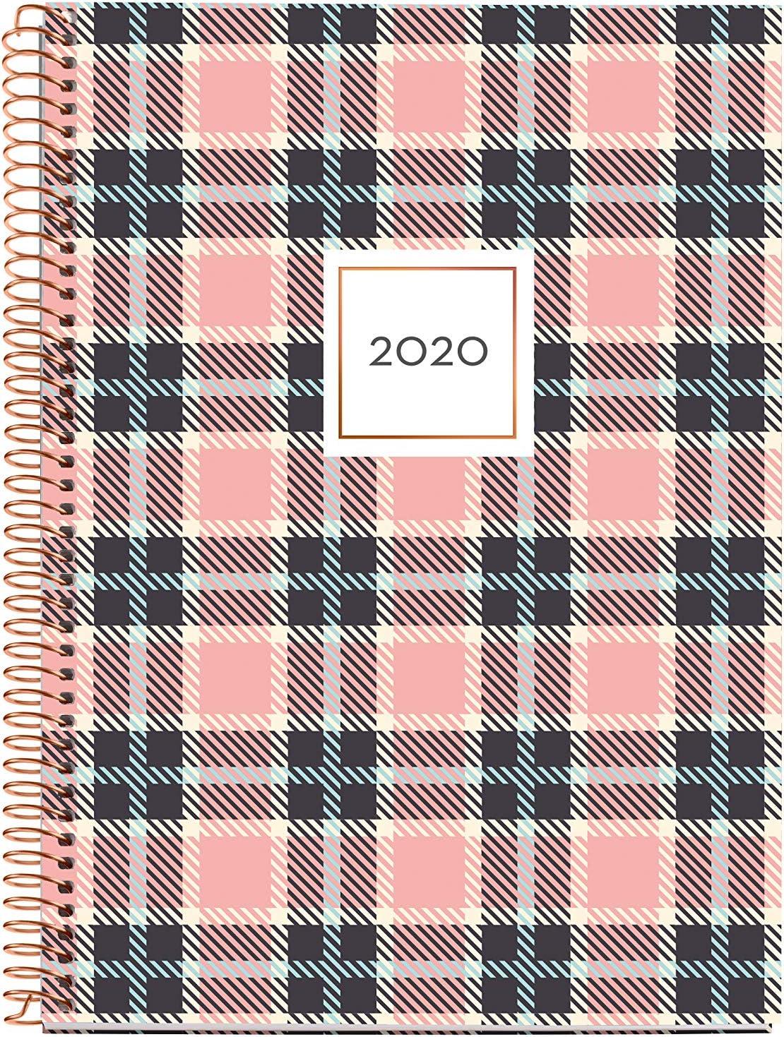 Miquelrius 34013 Agenda 2020 D/ía P/ágina sobremesa Script Rosa 155 x 213 mm Castellano