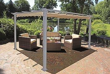 Häufig Garden Pleasure Alu Pergola 395x225cm Terrasse Überdachung JO57